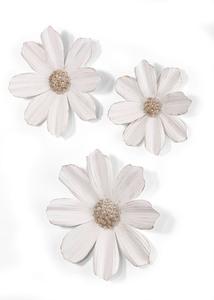 Wanddeko Blumen (3-tlg.Set)