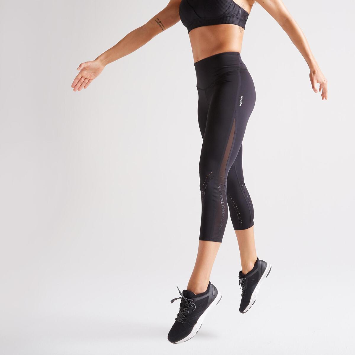 Bild 1 von 7/8-Leggings FLE 900 Fitness Cardio Damen schwarz
