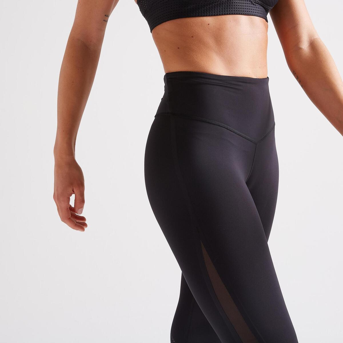 Bild 3 von 7/8-Leggings FLE 900 Fitness Cardio Damen schwarz