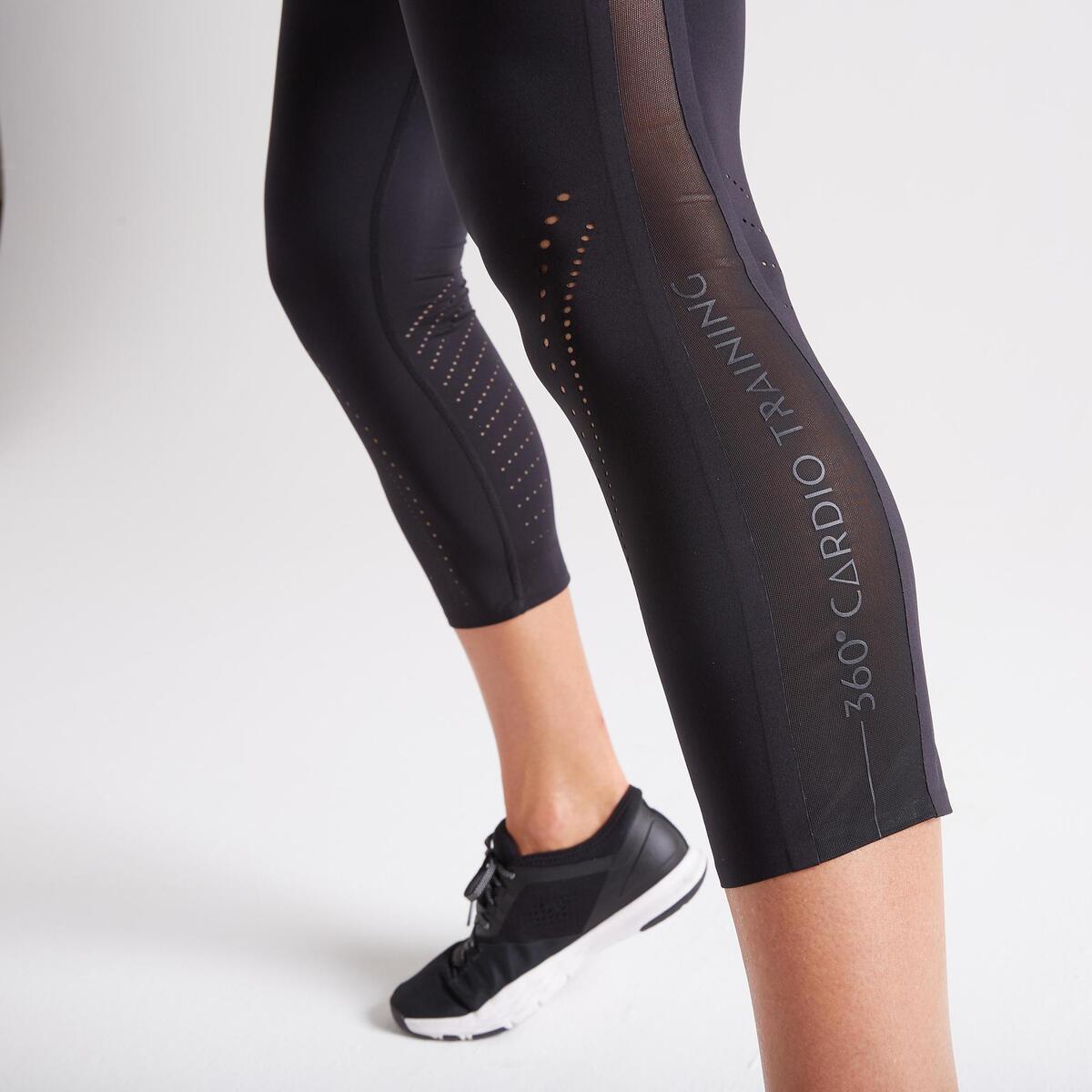 Bild 4 von 7/8-Leggings FLE 900 Fitness Cardio Damen schwarz