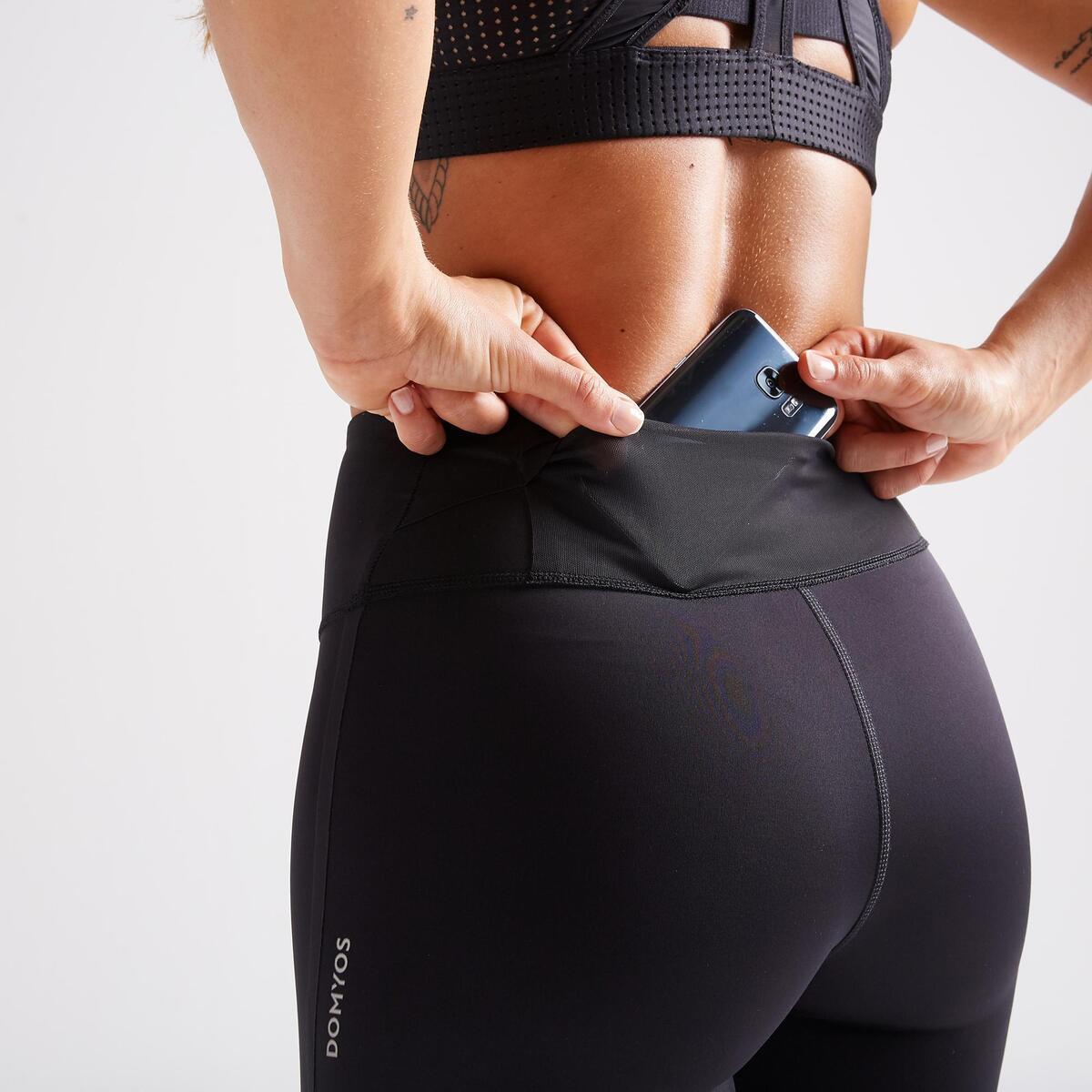 Bild 5 von 7/8-Leggings FLE 900 Fitness Cardio Damen schwarz