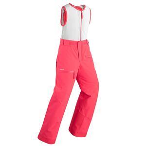 Skihose Latzhose Freeride 900 integrierter Rückenschutz Bib Protect rosa