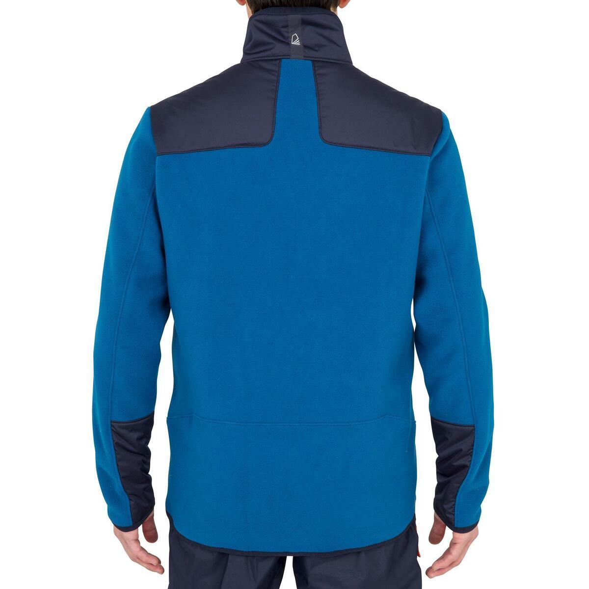 Bild 3 von Fleecejacke Segeln Sailing 500 warm Herren blau