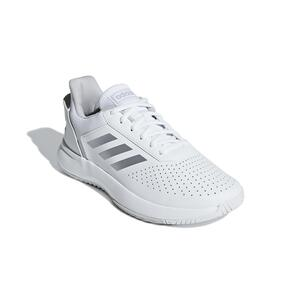 Tennisschuhe Courtsmash Damen weiß