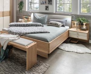 Wiemann Bett mit Nachttischen Kiruna 180 x 200 cm