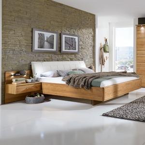 Wiemann Bett mit Nachttischen Toledo 180 x 200 cm