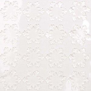 Made by Me Gelsticker Schneeflocke transparent