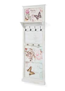 Garderobenpaneel mit Schmetterling-Design