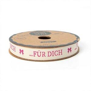 hotex Band Für Dich creme 15mm 2m