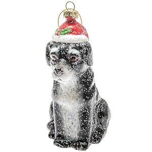 Baumschmuck Labrador mit Mütze 13cm