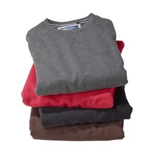 Herren-Sweatshirt versch. Farben, Größe: S - XXL, je
