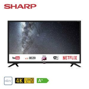 LC-32HI5332E • HD-TV • 3 x HDMI, 2 x USB, CI+ • geeignet für Kabel-, Sat- und DVB-T2-Empfang • Maße: H 43,8 x B 73,2 x T 8,4 cm • Energie-Effizienz A+ (Spektrum A++ bis E) • Bildschirmd