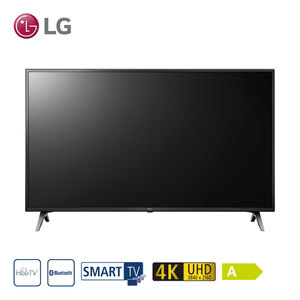 43UM71007LB • TV-Aufnahme über USB • 3 x HDMI, 2 x USB, CI+ • geeignet für Kabel-, Sat- und DVB-T2-Empfang • Maße: H 57,4 x B 97,5 x T 8 cm • Energie-Effizienz A (Spektrum A++ bis E) •