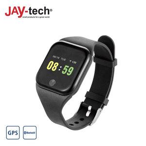 Fitness-Armband BT 46 · Schrittzähler, Herzfrequenzmesser, Schlafüberwachung · Kalorienverbrauch, Blutdruckmessung · Anruf- und Mitteilungsbenachrichtigungen · Alarmfunktion
