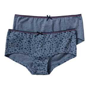 Mädchen-Panty mit Sternchen-Muster, 2er Pack