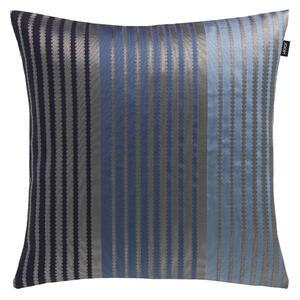KISSENHÜLLE Blau, Graphitfarben, Grau 38/38 cm