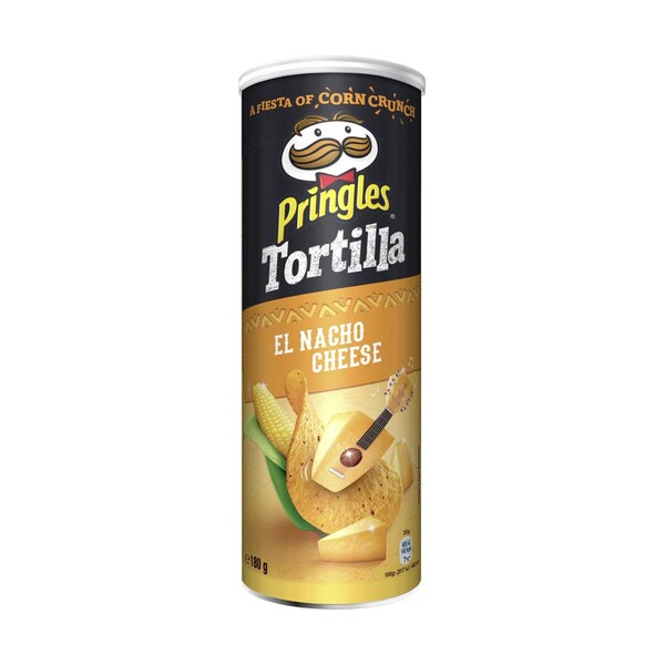 Pringles oder Tortilla Chips versch. Sorten, jede 180/200-g-Dose