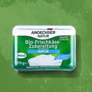 Andechser Bio Frischkäse versch. Sorten jede 175-g-Packung