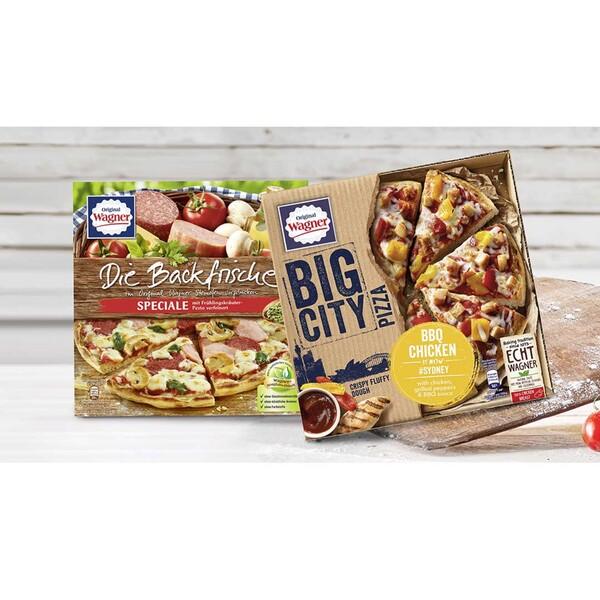 Original Wagner Die Backfrische Speciale oder Big City Pizza Sydney gefroren, jede 425/360-g-Packung und weitere Sorten