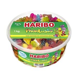 Haribo Fruchtgummi oder Lakritz versch. Sorten, jede 1-kg-Dose