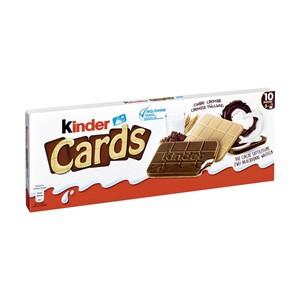 Kinder Cards jeder 128-g-Packung