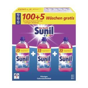 Sunil Waschmittel 100/105 Waschladungen, versch. Sorten, jede Packung