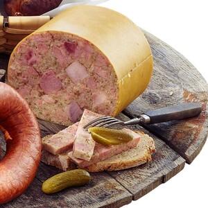 Wolf Original Thüringer Sülzfleischwurst in der Butte, pikant würzig, je 100 g