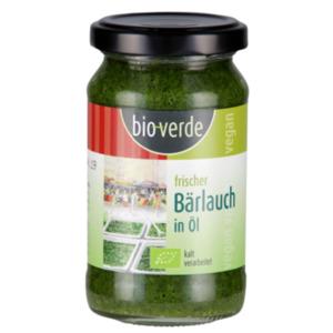 bio-verde Frisches Pesto oder Kräuter in Öl