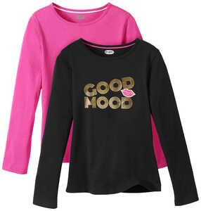 HIP&HOPPS®  Mädchen-Langarm-Shirts