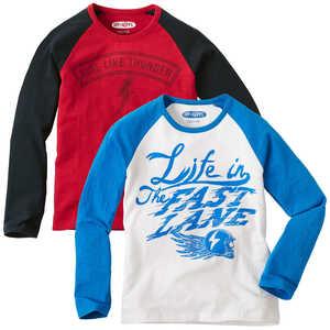 HIP&HOPPS®  Jungen-Langarm-Shirt