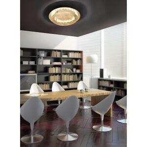home24 LED-Deckenleuchte Nevis Leaf I