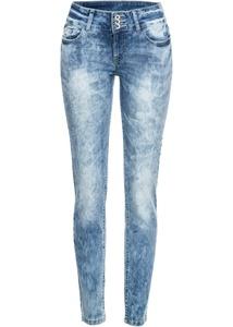 Skinny Jeans mit starker Waschung