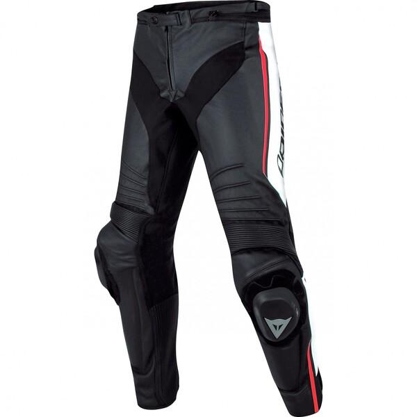 Dainese            Misano Lederhose schwarz/weiß/rot 58