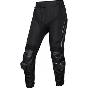 IXS            Sport Leder-/Textilhose RS-1000 schwarz/grau