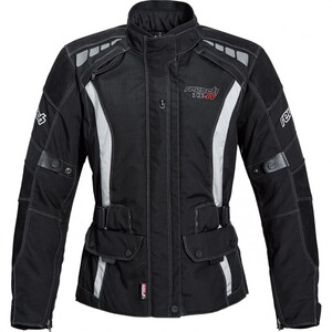 reusch Damen Touren Leder-/Textiljacke 1.0 schwarz Größe S