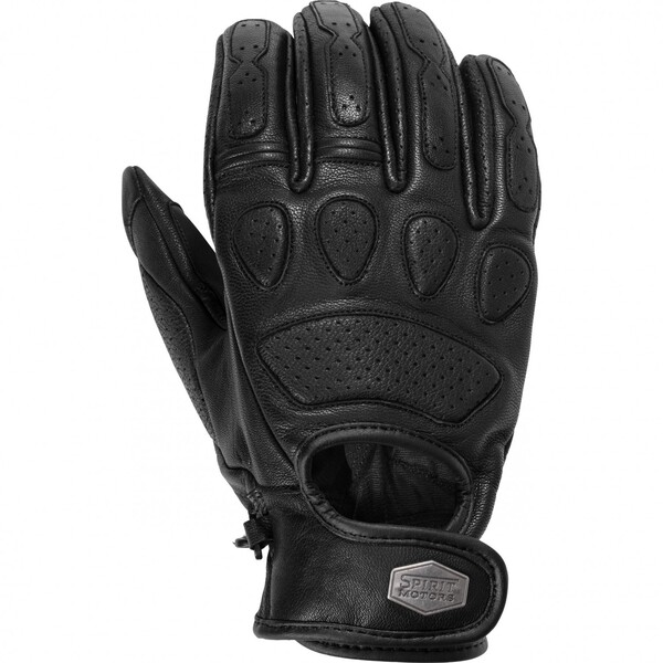 Spirit Motors            Retro-Style Lederhandschuh 1.0 schwarz