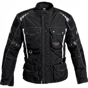 reusch Touren Leder-/Textiljacke 1.0 schwarz Herren Größe S