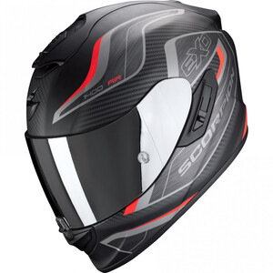 Scorpion EXO            1400 Air Attune matt black/red graphic