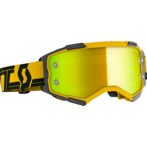 Scott Fury Crossbrille gelb