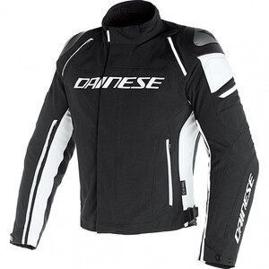 Dainese            Racing 3 D-Dry Textiljacke schwarz/weiß