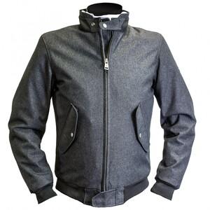 Helstons Nova Textiljacke grau Herren Größe 4XL