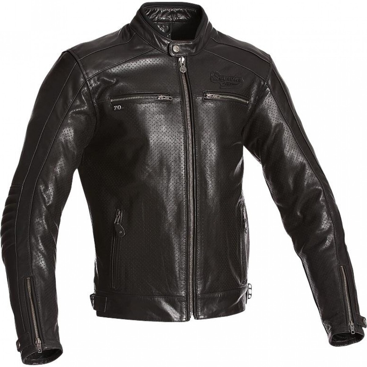 Bild 1 von Segura Iron Lederjacke schwarz Herren Größe S