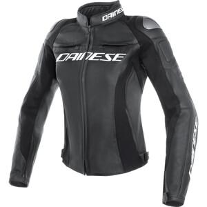 Dainese            Racing 3 Damen Lederjacke perforiert schwarz