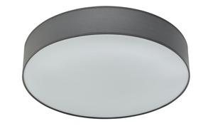 LED-Deckenleuchte Stoffschirm, grau