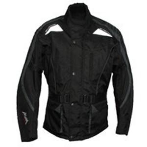 Akuma Motorradjacke schwarz, Gr. L