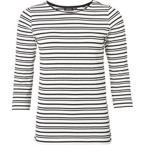Damen Shirt mit Ringelmuster