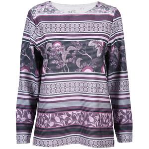 Damen Sweatshirt in Ottoman-Rippe