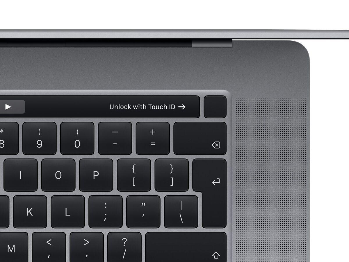 """Bild 3 von Apple MacBook Pro 16"""", i7 2,6 GHz, 16 GB RAM, 512 GB SSD, spacegrau"""