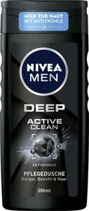 NIVEA MEN Pflegedusche Deep Active Clean