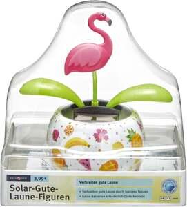 IDEENWELT Solar-Gute-Laune-Figuren Flamingo
